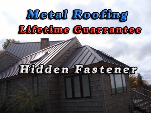 Metal Roofing - Dave Deschaine Roofing