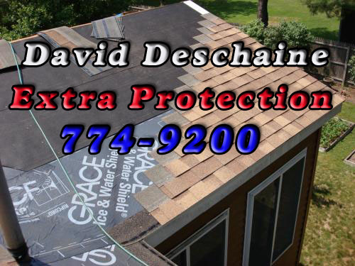 Dave Deschaine Roofing - ice and water shield