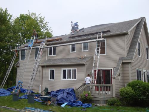 roofing job Portland Maine